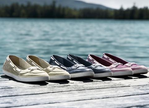 timberland women's earthkeepers deering boat ballerina shoes