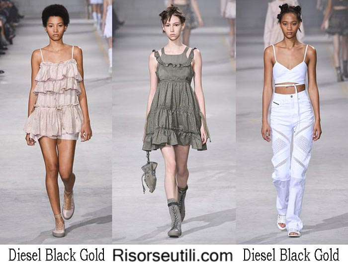 Diesel Black Gold spring summer 2017 fashion brand