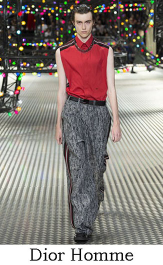 Dior Homme spring summer 2017 fashion for men look 33