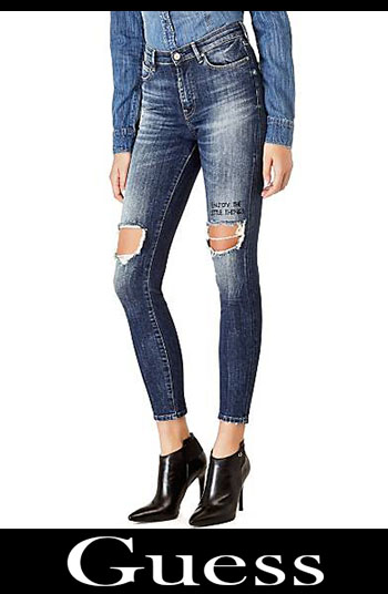 Guess ripped jeans fall winter women 2