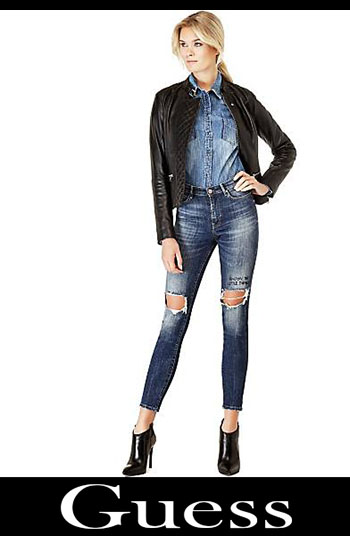 Guess ripped jeans fall winter women 3