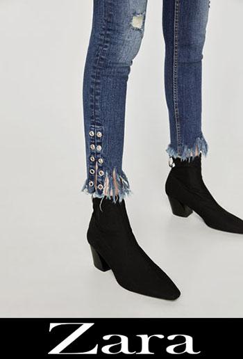 Zara ripped jeans fall winter women 2