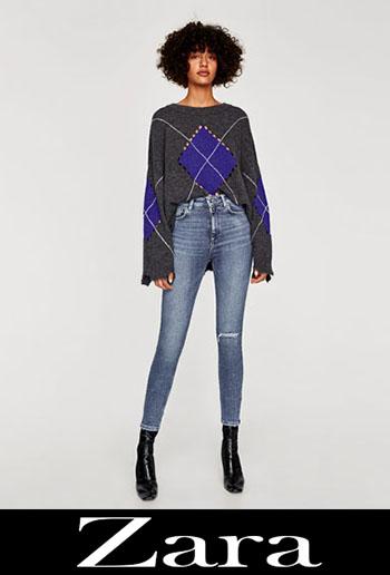 Zara ripped jeans fall winter women 4