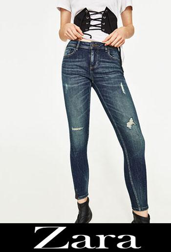 Zara ripped jeans fall winter women 7