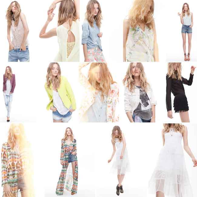 Zara for women clothing new collection spring summer trends
