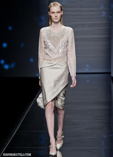 Alberta Ferretti New Collection Spring Summer 12