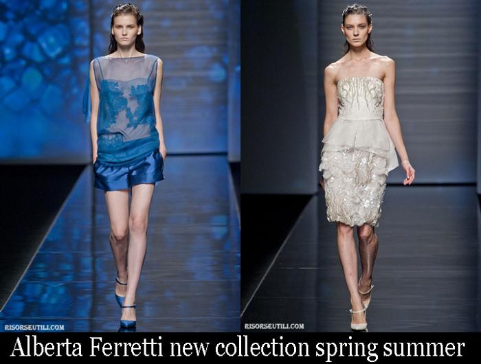 Alberta Ferretti New Collection Spring Summer