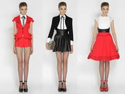 Alexander McQueen fashion 2012 clothing collection Lookbook image 1