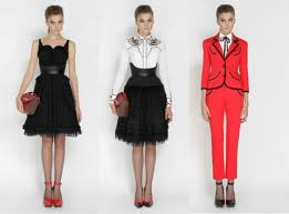 Alexander McQueen fashion 2012 clothing collection Lookbook image 3