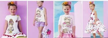 Monnalisa fashion children clothing spring summer 2012