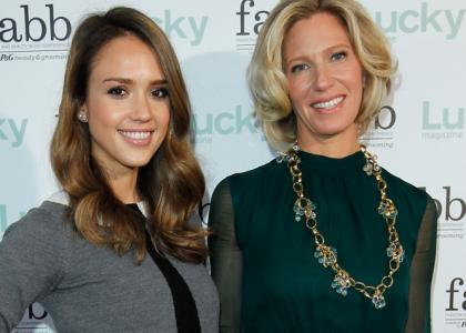 New video guide fashion tips Jessica Alba look for Less