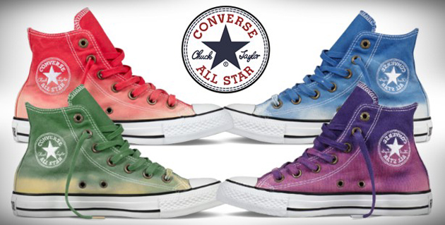 fed73d3458dbd Converse collection Dip dye Chuck Taylor sneakers All Star