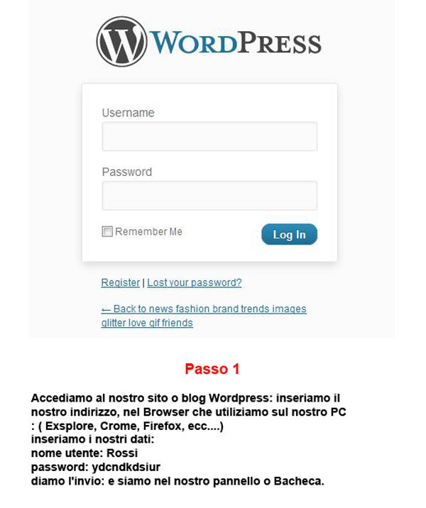 Ultima Guida WordPress consigli per fare Articoli e Lavorare Login-it