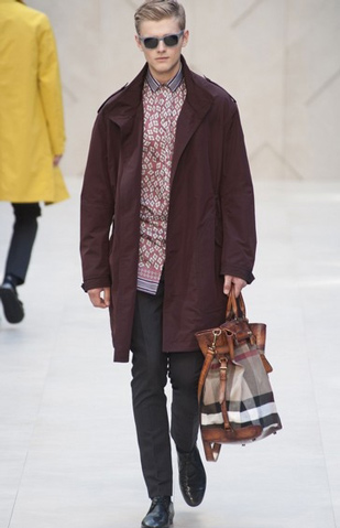 Burberry Prorsum for men collection spring summer clothing