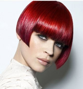 New-trends-in-hair-color-stylish-with-cutting-of-short-hair-image-1