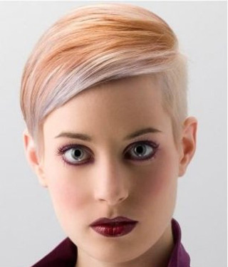 New-trends-in-hair-color-stylish-with-cutting-of-short-hair-image-3