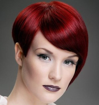 New-trends-in-hair-color-stylish-with-cutting-of-short-hair-image-9