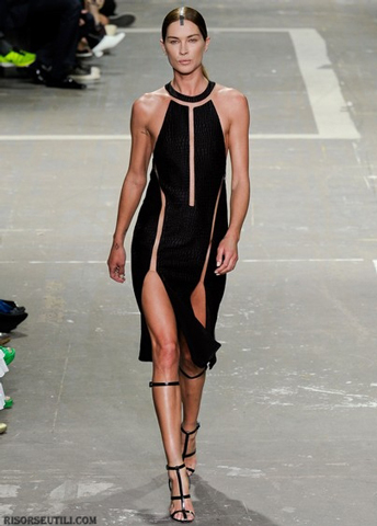 Alexander Wang fashion brand designer new trends clothing-suit