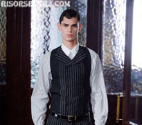 Alexander McQueen new collection fall winter clothing for men