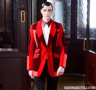 Alexander McQueen new collection fall winter clothing men accessories