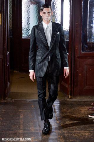 Alexander McQueen new collection fall winter clothing men jacket