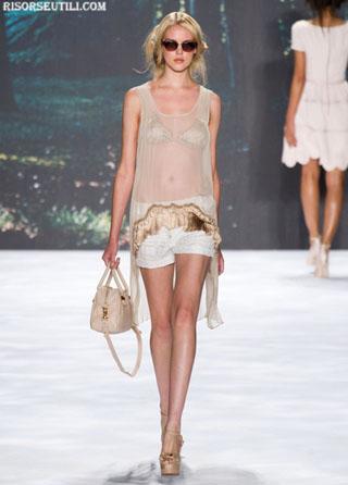 Badgley Mischka fashion dresses new collection spring summer shorts