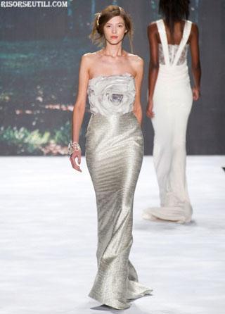 Badgley Mischka fashion dresses sleeveless new collection spring summer