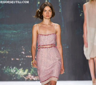 Badgley Mischka video new collection spring summer 2013 show