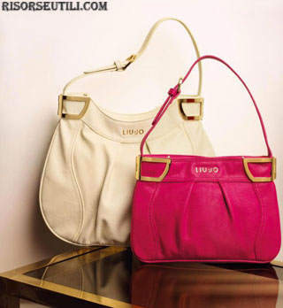 Bags pink and white Liu Jo new collection fashion accessories spring summer