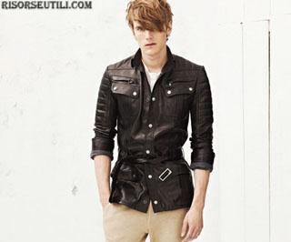 Balmain fashion new collection spring summer clothing for men 2013