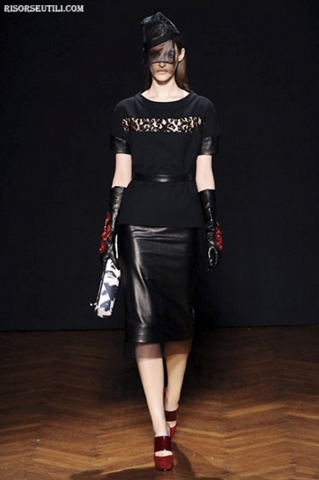 Frankie-Morello-new-collection-fashion-fall-winter-clothing-skirts-leather