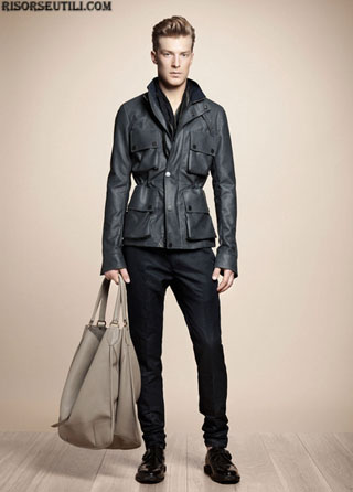 Belstaff fashion leather spring summer men 2013