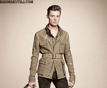 Belstaff new collection spring summer men 2013 show
