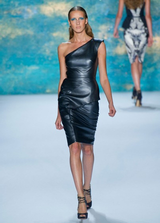 Monique-Lhuillier-leather-dress-spring-summer-2013
