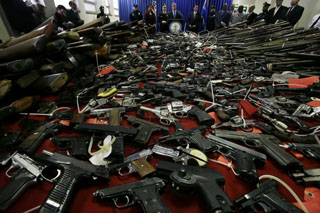 New Age World news In Uruguay swap guns for PC or bicycle