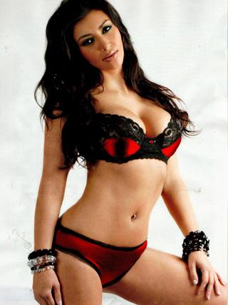News Kim Kardashian lifestyle pregnancy in red photo dress 5
