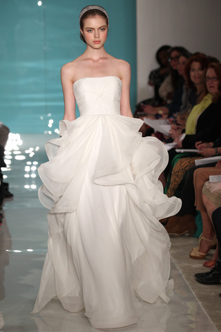 Reem Acra wedding dresses new collection 2013 2014 bridal 11