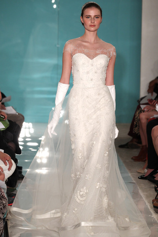 Reem Acra wedding dresses new collection 2013 2014 bridal 5