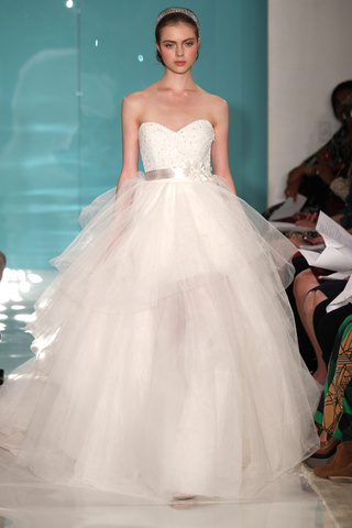 Reem Acra wedding dresses new collection 2013 2014 bridal 9