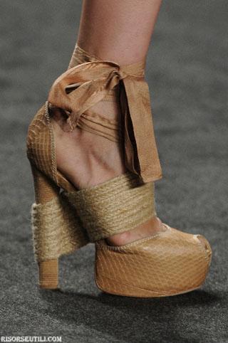 Vera Wang sandals spring summer women 2013
