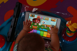 World-news-technology-child-under-medical-care-for-iPad