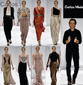 Carlos Miele Fashion Brand Collection Dress Accessories