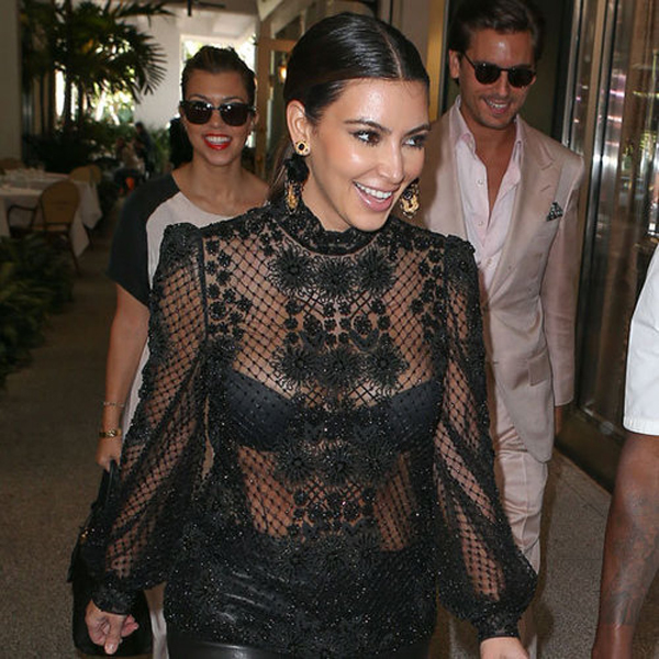 9185567477b Dolce--Gabbana-celebrity-lifestyle-Kim-Kardashian-Wearing-Black-Lace-Top