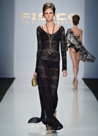 Fisico-evening-dress-in-shops-windows-fashion-collection-spring-summer-2013