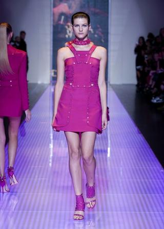 Versus-fashion-short-dress-collection-spring-summer