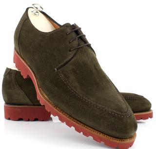 Collection Bontoni shoes fall winter 2013 2014 Suede Conero