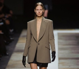 Look Theyskens Theory lifestyle fall winter 2013 2014 dresses