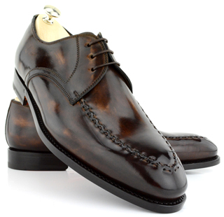 Accessories Bontoni Shoes Fall Winter For Men Chocolate 1