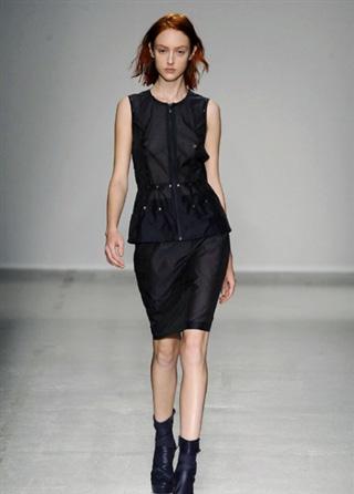 Catalog look Vandevorst dresses 2014 spring summer trends