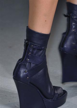 Vandevorst leather shoes spring summer catalog 2014
